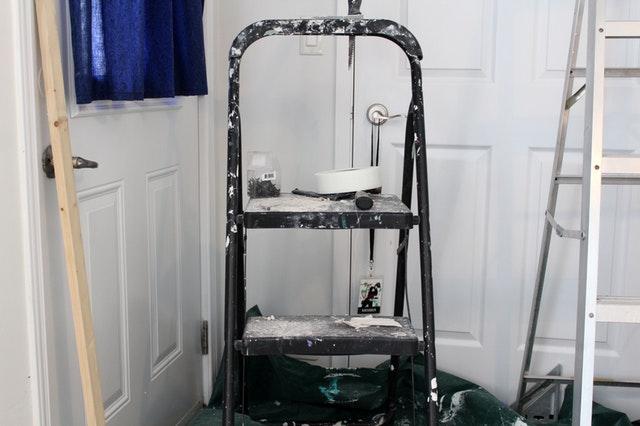 home repair, ladders